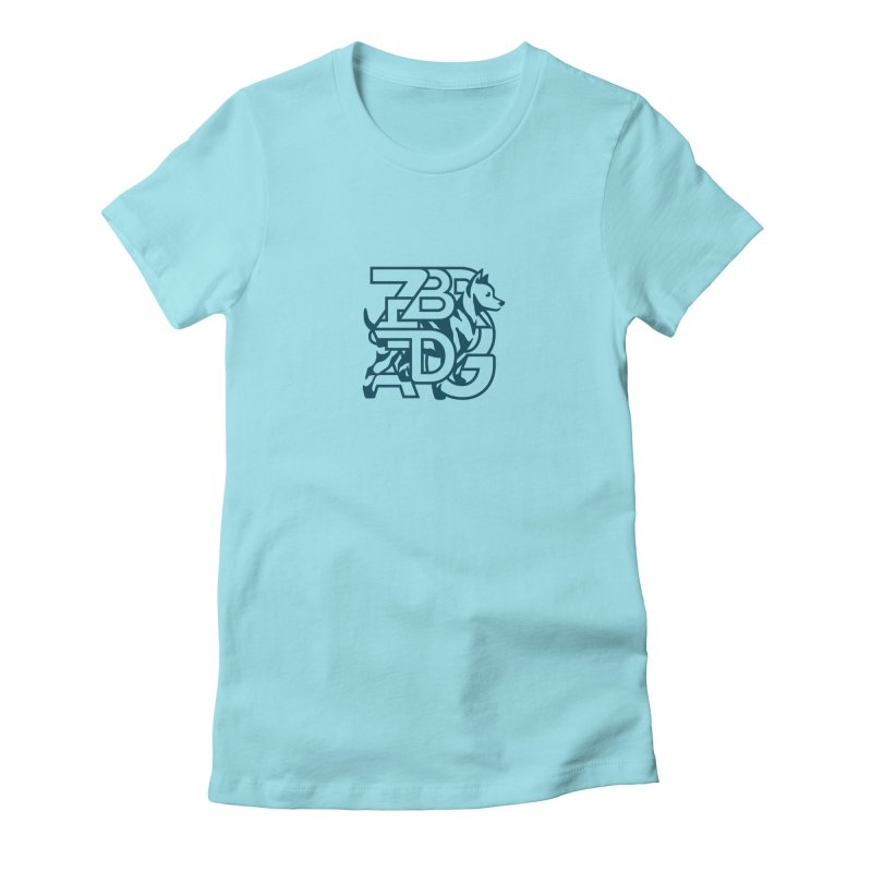 Mish Mash Women's Fitted T-Shirt by Zebradog Apparel & Accessories