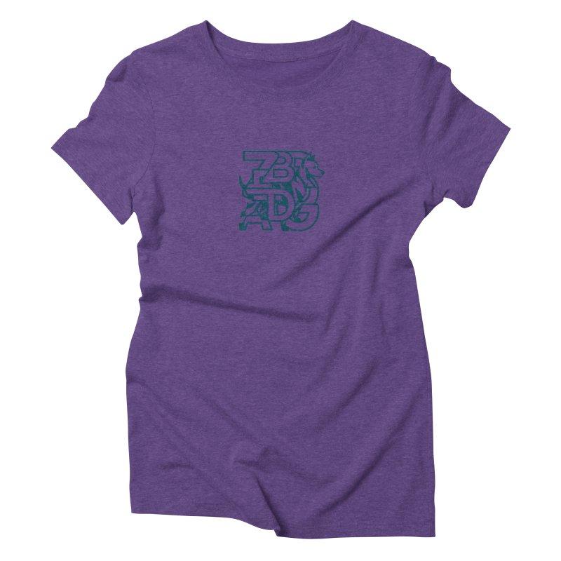 Mish Mash Women's Triblend T-Shirt by Zebradog Apparel & Accessories