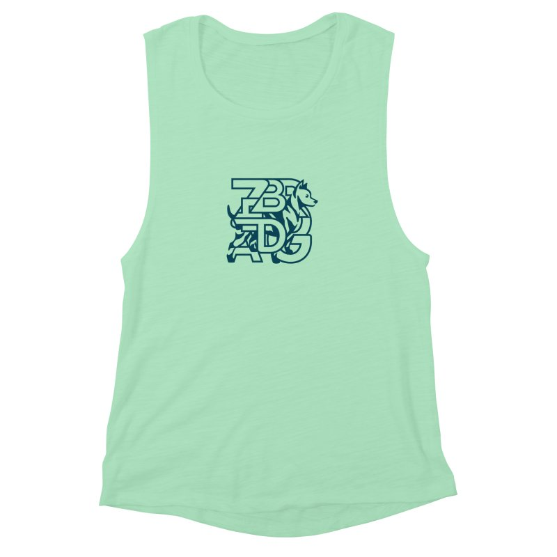 Mish Mash Women's Muscle Tank by Zebradog Apparel & Accessories