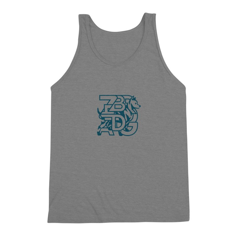 Mish Mash Men's Triblend Tank by Zebradog Apparel & Accessories
