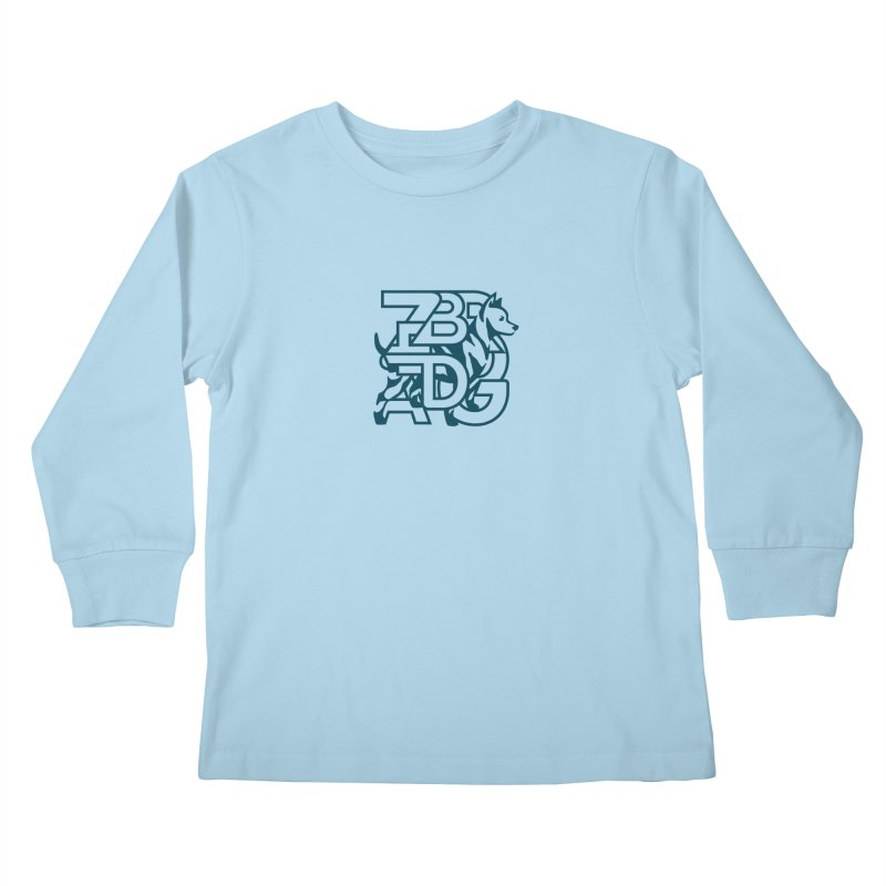 Mish Mash Kids Longsleeve T-Shirt by Zebradog Apparel & Accessories
