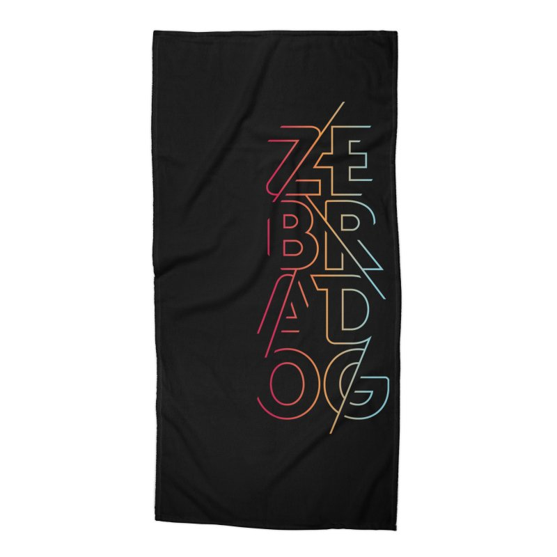 Neon '95 Accessories Beach Towel by Zebradog Apparel & Accessories
