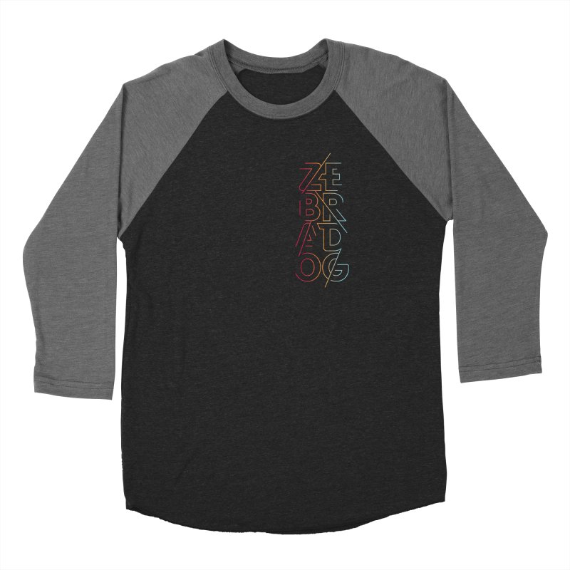 Neon '95 Women's Baseball Triblend Longsleeve T-Shirt by Zebradog Apparel & Accessories