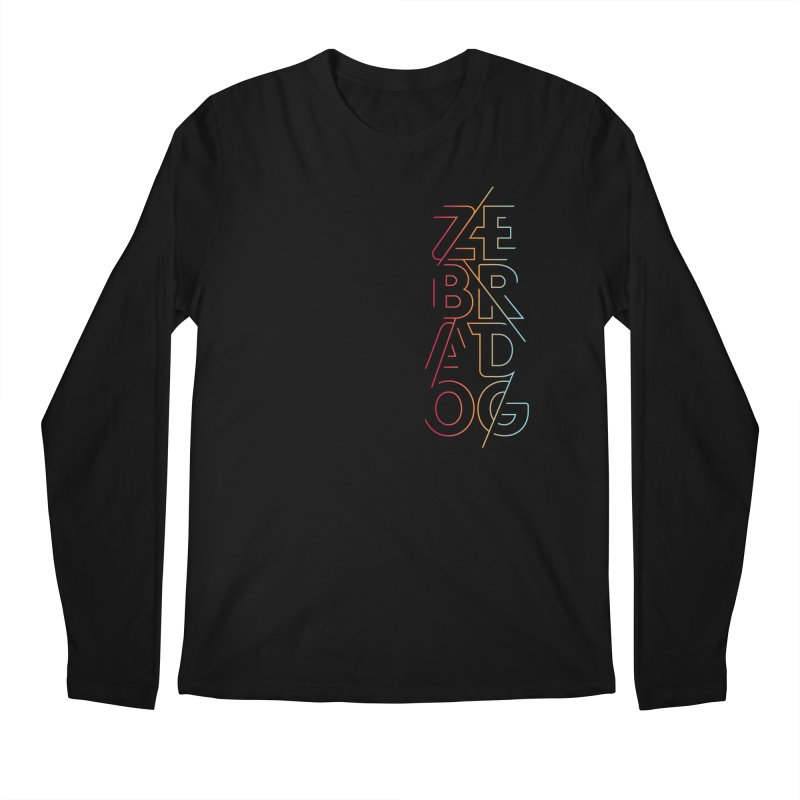 Neon '95 Men's Longsleeve T-Shirt by Zebradog Apparel & Accessories