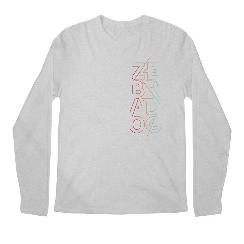 Neon '95 Men's Regular Longsleeve T-Shirt by Zebradog Apparel & Accessories