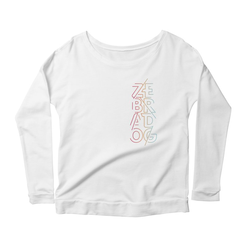Neon '95 Women's Scoop Neck Longsleeve T-Shirt by Zebradog Apparel & Accessories
