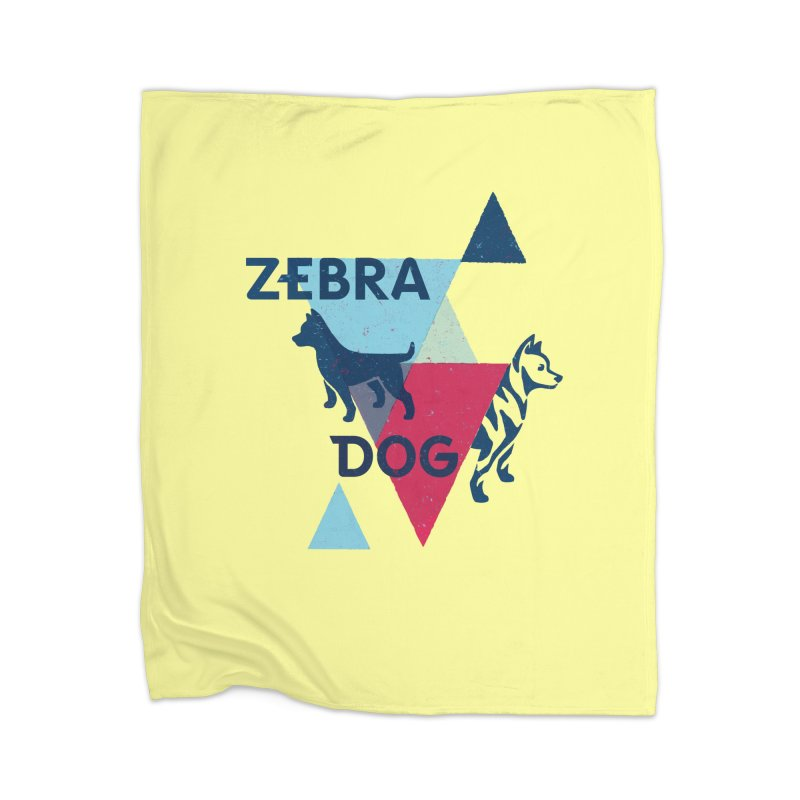 New Wave Home Blanket by Zebradog Apparel & Accessories