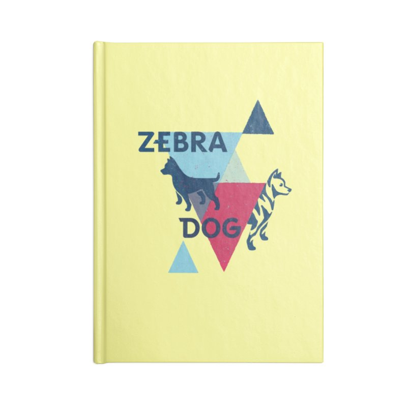 New Wave Accessories Lined Journal Notebook by Zebradog Apparel & Accessories