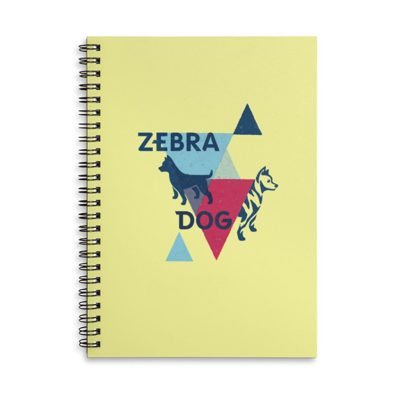 New Wave Accessories Lined Spiral Notebook by Zebradog Apparel & Accessories
