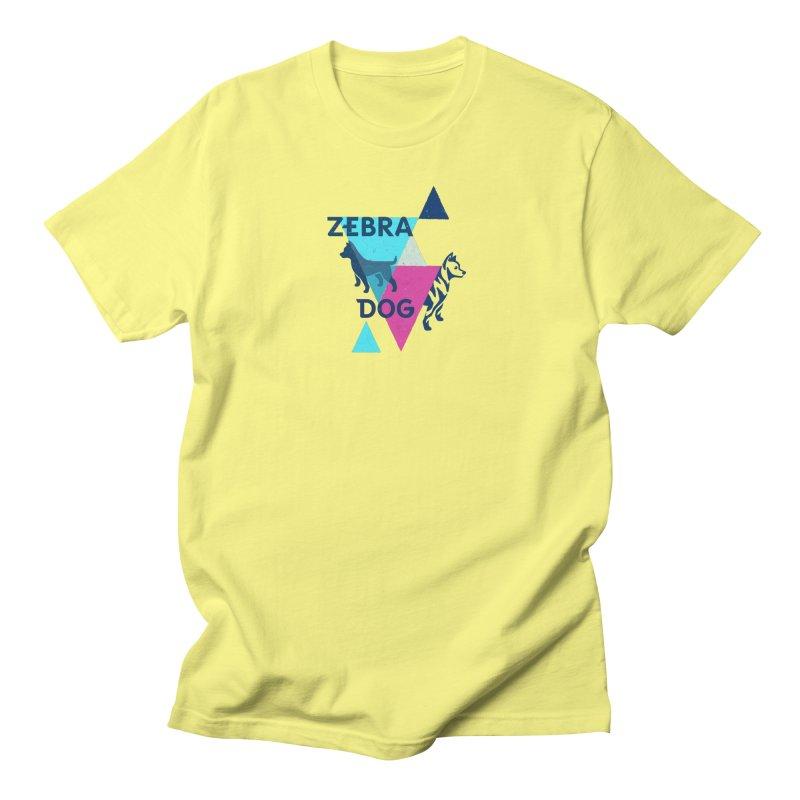 New Wave Men's T-Shirt by Zebradog Apparel & Accessories