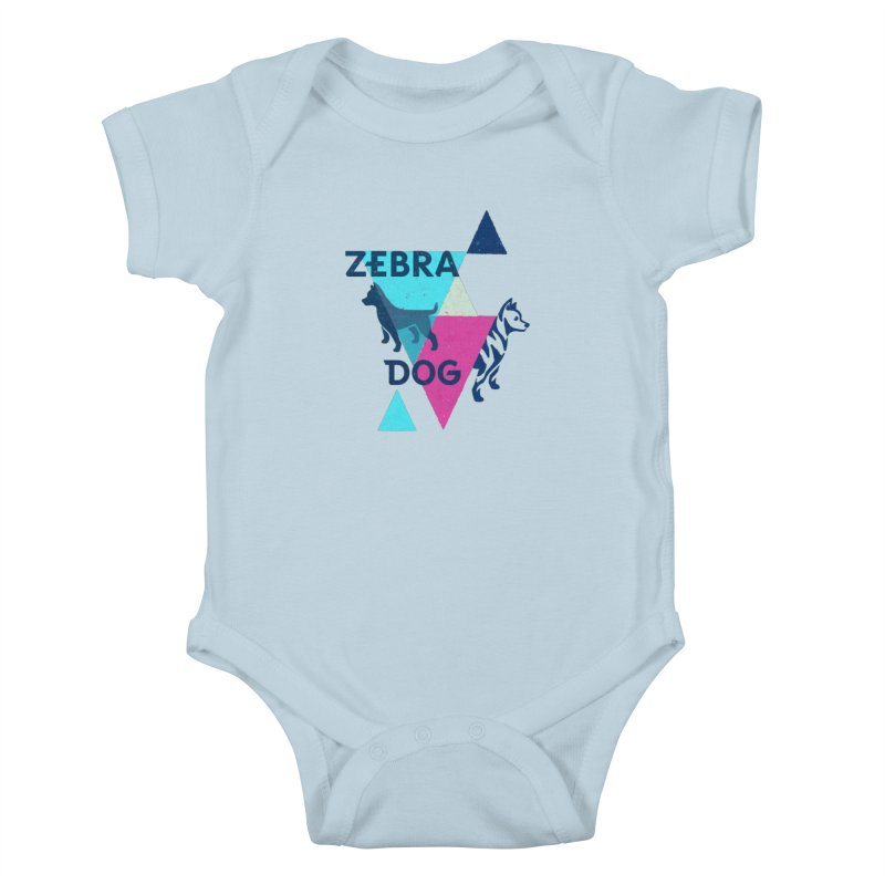 New Wave Kids Baby Bodysuit by Zebradog Apparel & Accessories