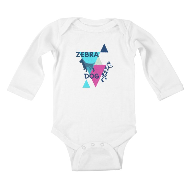New Wave Kids Baby Longsleeve Bodysuit by Zebradog Apparel & Accessories