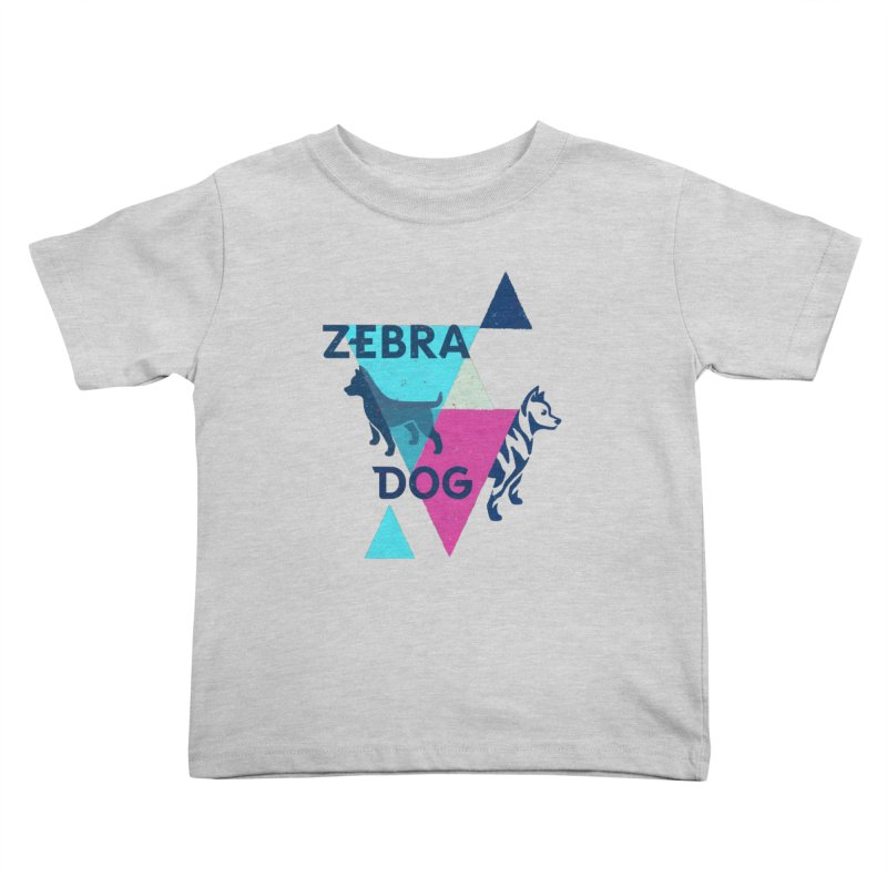 New Wave Kids Toddler T-Shirt by Zebradog Apparel & Accessories