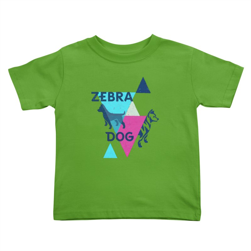 New Wave Kids Toddler T-Shirt by Zebradog Apparel & Accessories