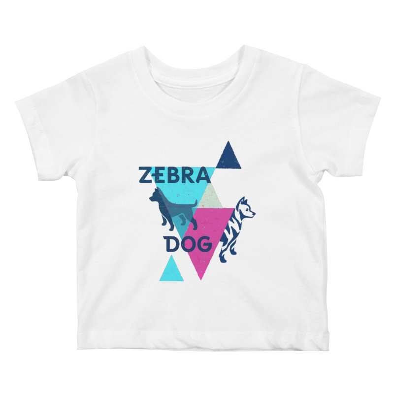 New Wave Kids Baby T-Shirt by Zebradog Apparel & Accessories