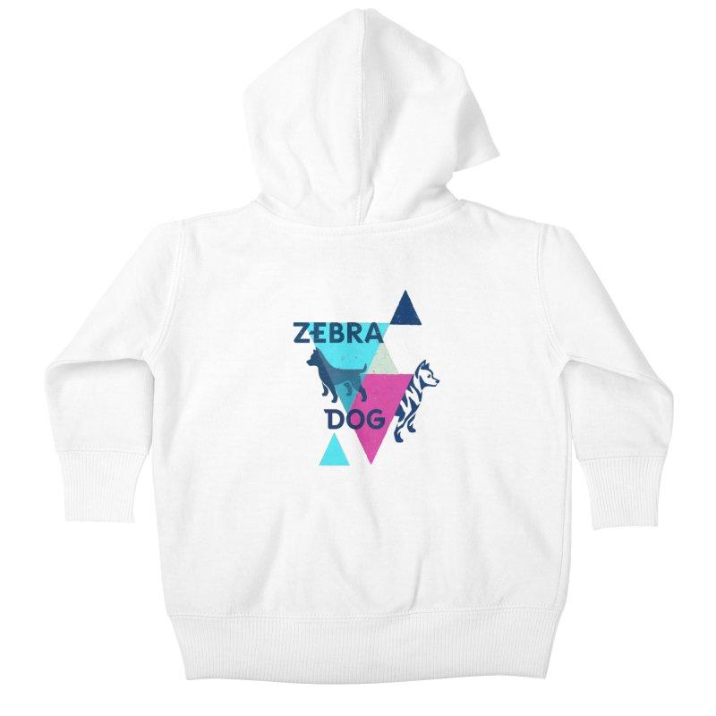 New Wave Kids Baby Zip-Up Hoody by Zebradog Apparel & Accessories