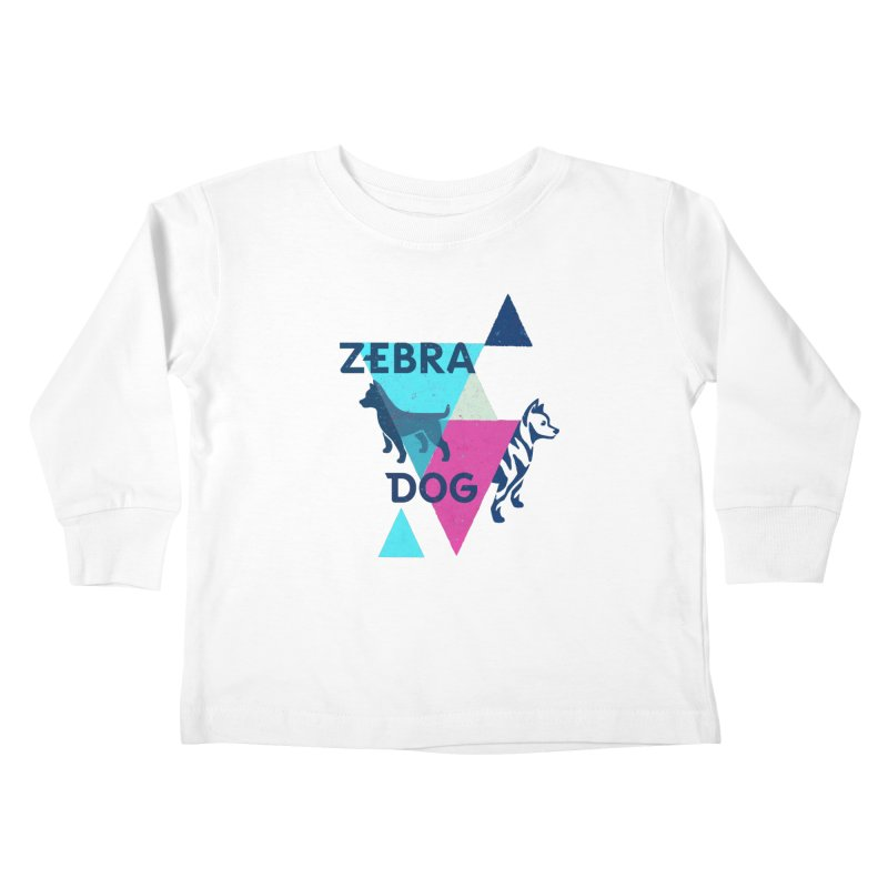 New Wave Kids Toddler Longsleeve T-Shirt by Zebradog Apparel & Accessories