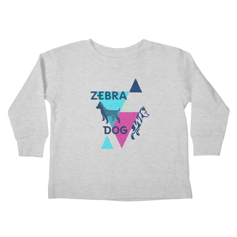 New Wave Kids Toddler Longsleeve T-Shirt by Zebradog Apparel & Accessories