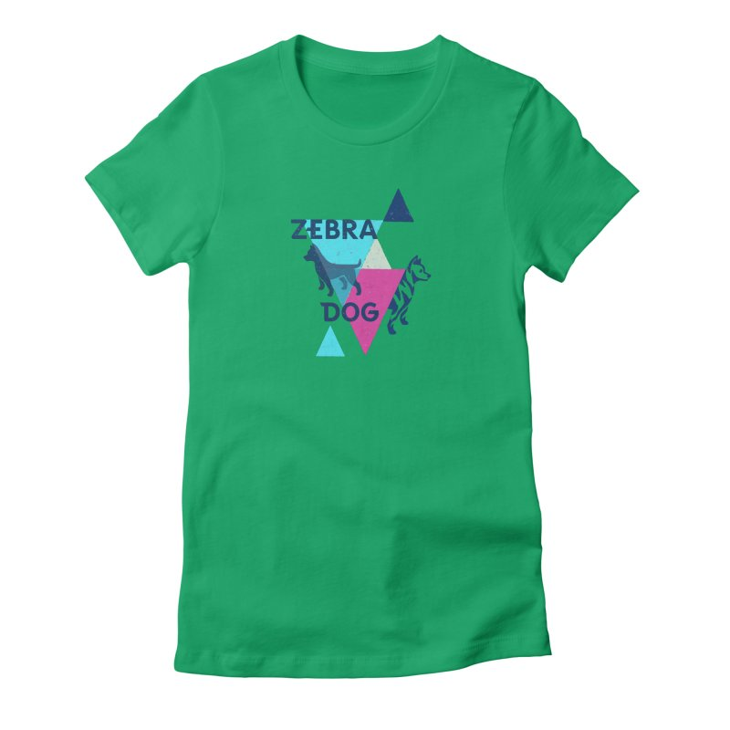 New Wave Women's T-Shirt by Zebradog Apparel & Accessories