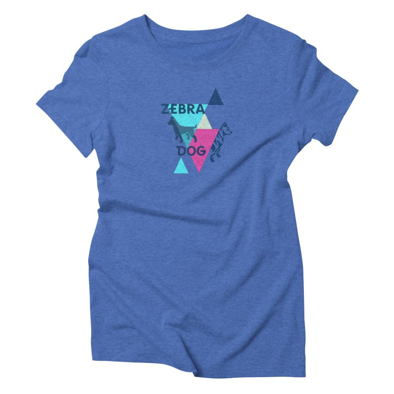 New Wave Women's Triblend T-Shirt by Zebradog Apparel & Accessories