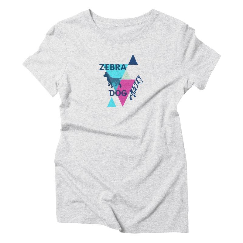 New Wave Women's Triblend T-Shirt by Zebradog Apparel & Accessories