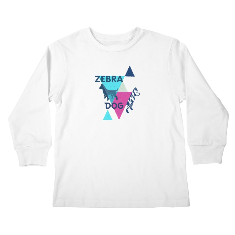 New Wave Kids Longsleeve T-Shirt by Zebradog Apparel & Accessories