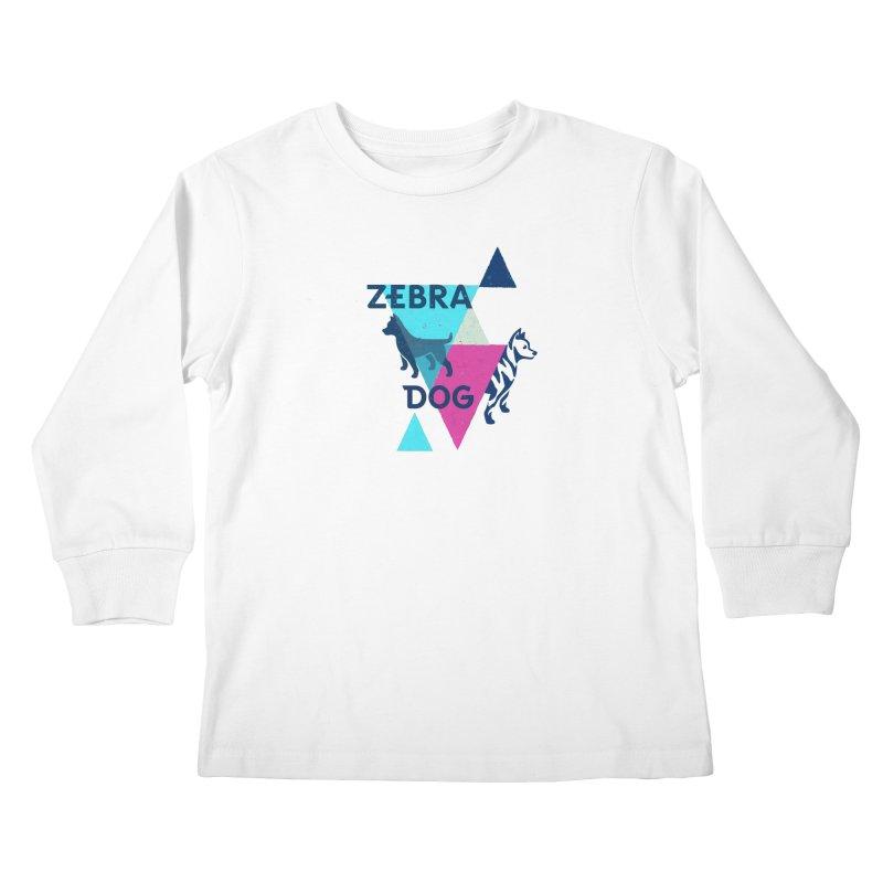 New Wave Kids Longsleeve T-Shirt by Zebradog Apparel & Accessories