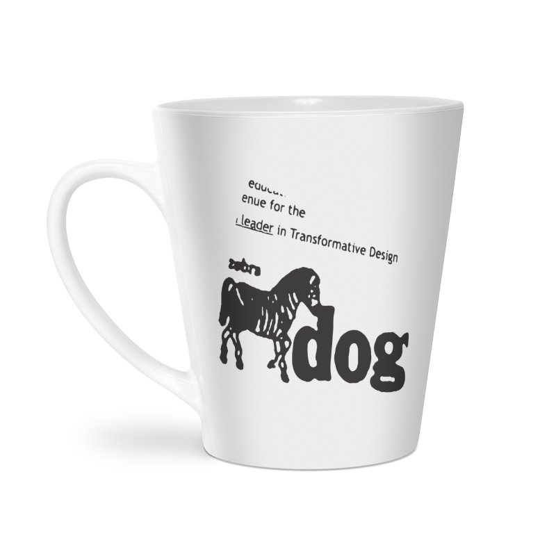 Z Dog Stamps Accessories Latte Mug by Zebradog Apparel & Accessories