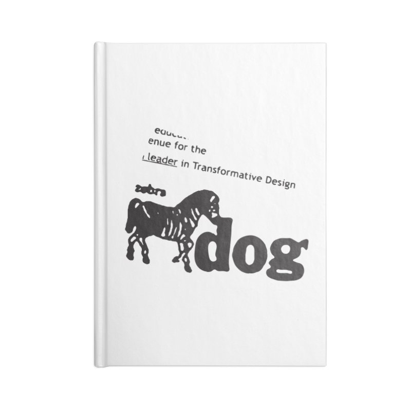 Z Dog Stamps Accessories Notebook by Zebradog Apparel & Accessories