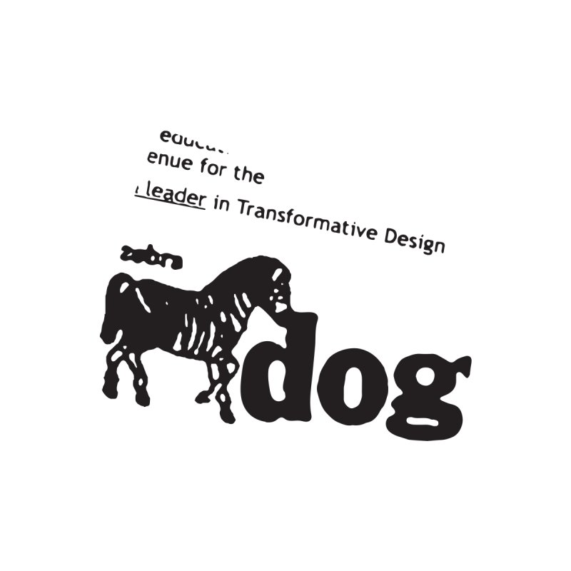 Z Dog Stamps Men's T-Shirt by Zebradog Apparel & Accessories