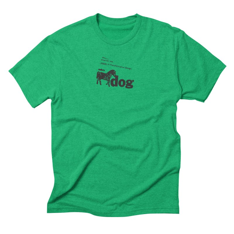 Z Dog Stamps Men's Triblend T-Shirt by Zebradog Apparel & Accessories