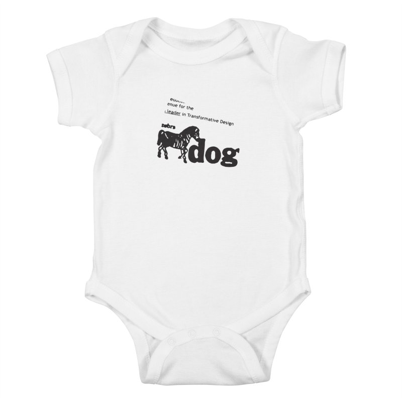 Z Dog Stamps Kids Baby Bodysuit by Zebradog Apparel & Accessories