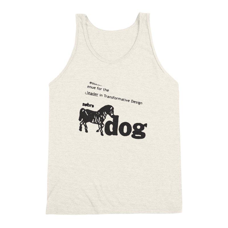 Z Dog Stamps Men's Triblend Tank by Zebradog Apparel & Accessories