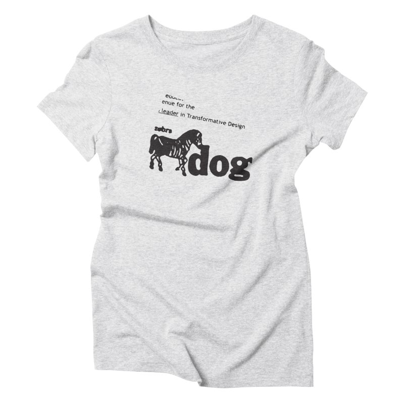 Z Dog Stamps Women's T-Shirt by Zebradog Apparel & Accessories