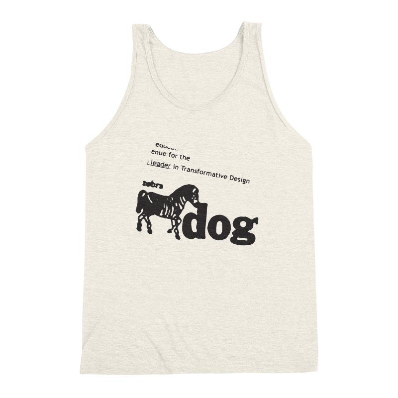 Z Dog Stamps Men's Tank by Zebradog Apparel & Accessories