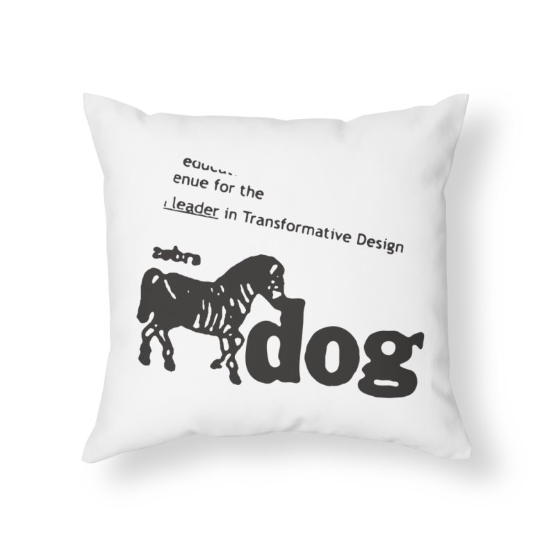 Z Dog Stamps Home Throw Pillow by Zebradog Apparel & Accessories