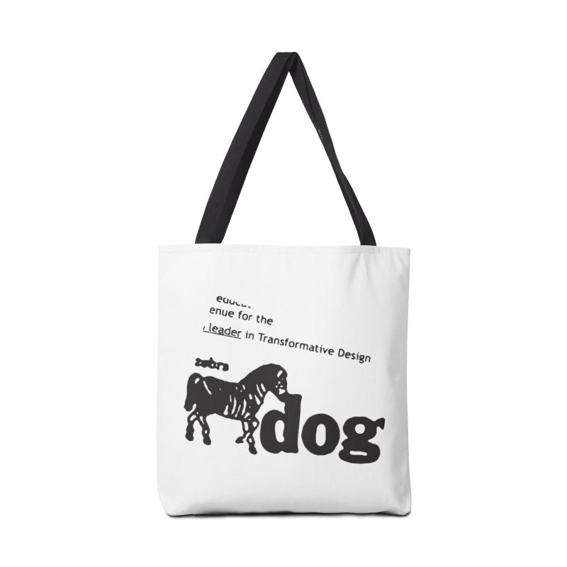 Z Dog Stamps Accessories Bag by Zebradog Apparel & Accessories