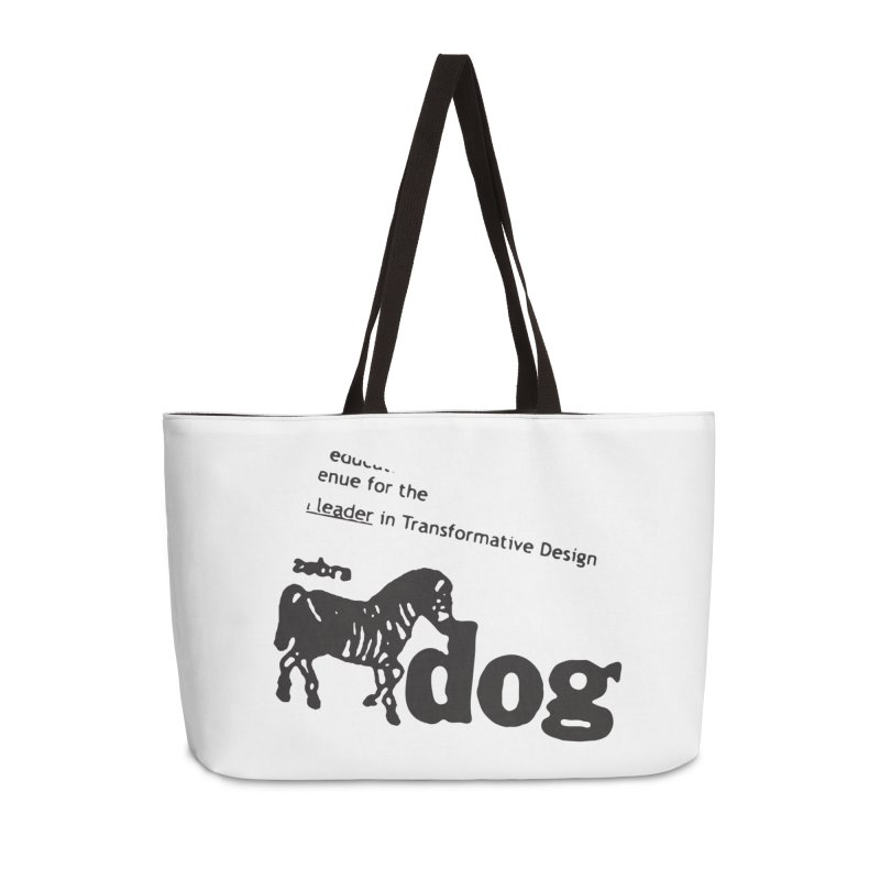 Z Dog Stamps Accessories Weekender Bag Bag by Zebradog Apparel & Accessories