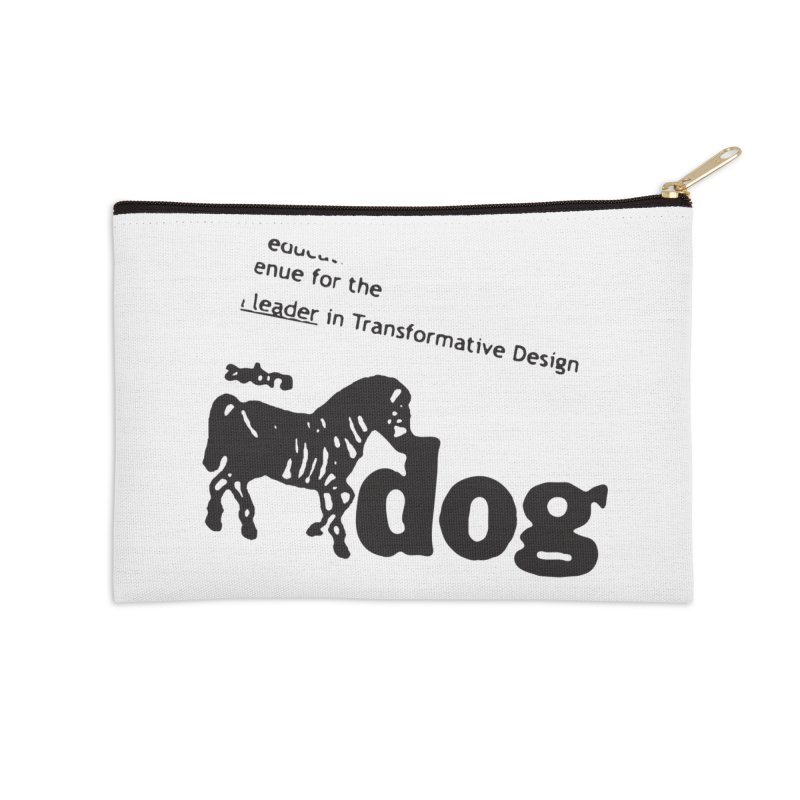 Z Dog Stamps Accessories Zip Pouch by Zebradog Apparel & Accessories