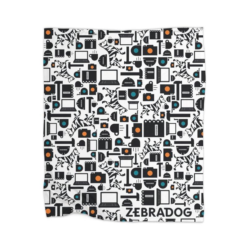 Tool Box Home Blanket by Zebradog Apparel & Accessories