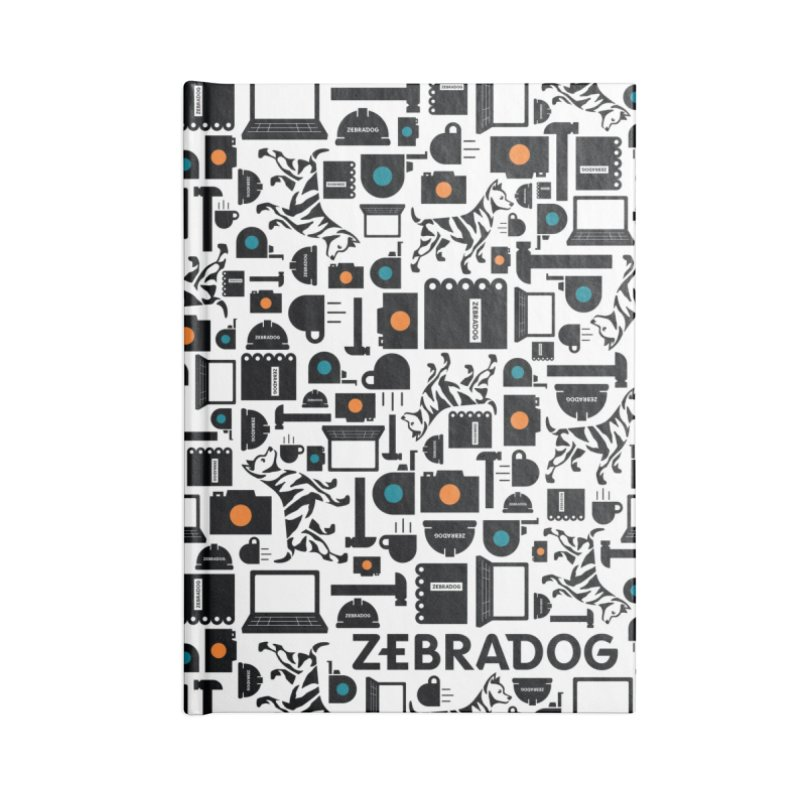 Tool Box Accessories Lined Journal Notebook by Zebradog Apparel & Accessories