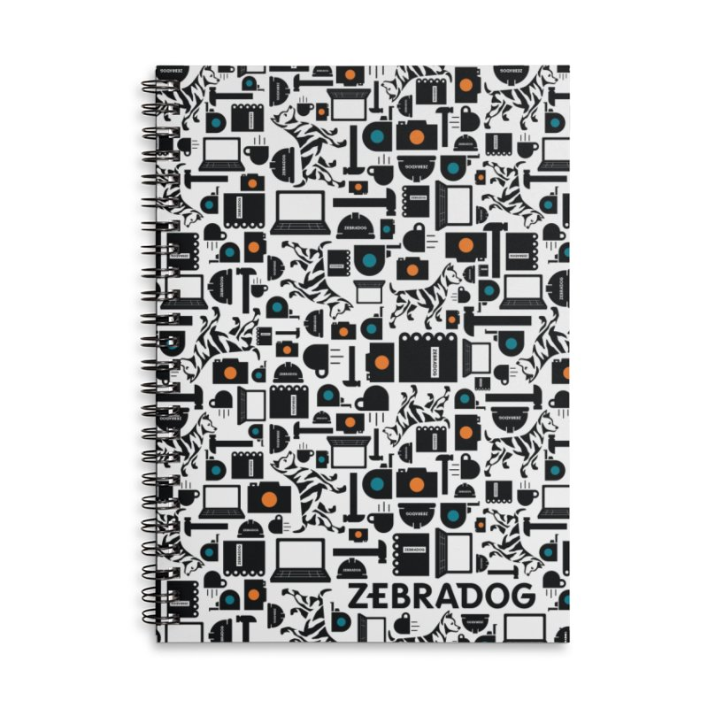Tool Box Accessories Notebook by Zebradog Apparel & Accessories