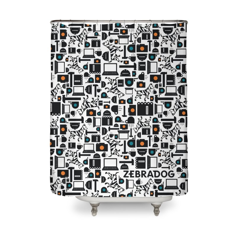 Tool Box Home Shower Curtain by Zebradog Apparel & Accessories