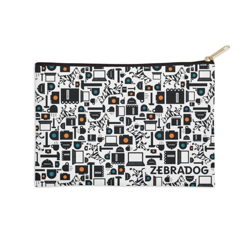 Tool Box Accessories Zip Pouch by Zebradog Apparel & Accessories