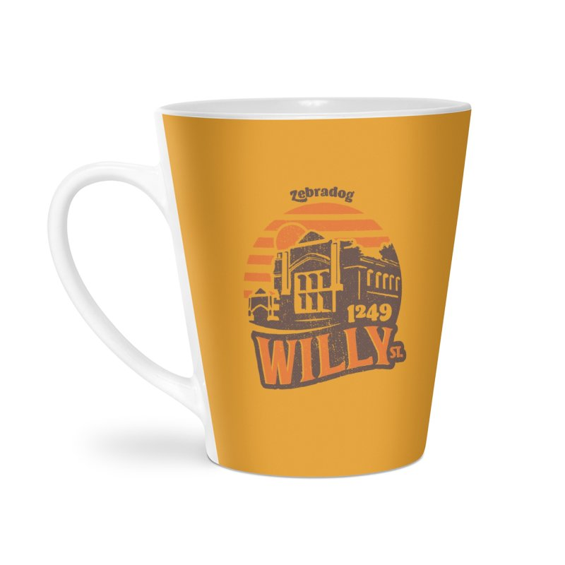 Vibe 1975 Accessories Latte Mug by Zebradog Apparel & Accessories