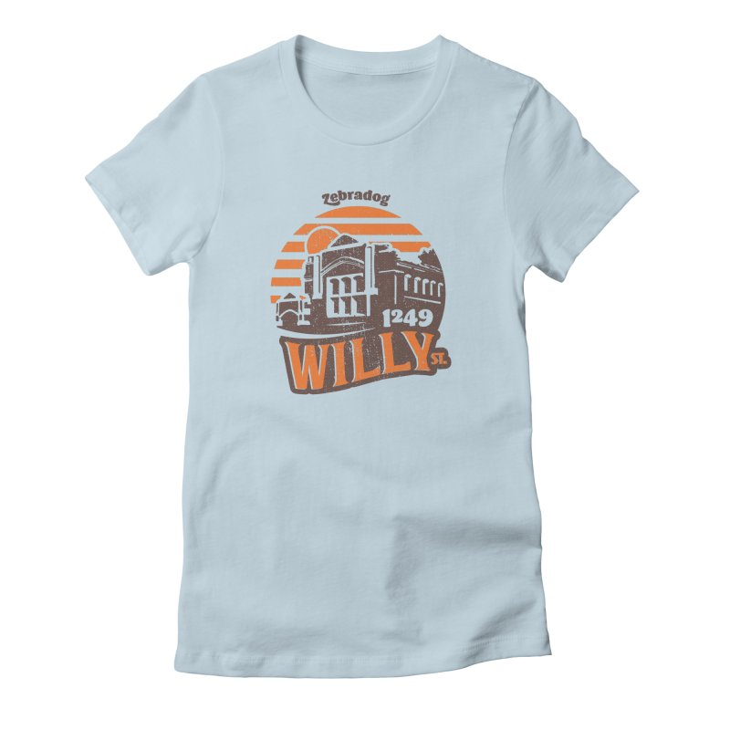 Vibe 1975 Women's T-Shirt by Zebradog Apparel & Accessories