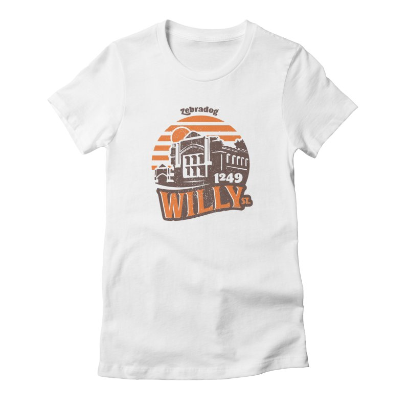 Vibe 1975 Women's Fitted T-Shirt by Zebradog Apparel & Accessories