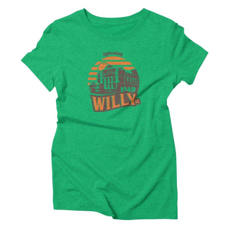 Vibe 1975 Women's T-Shirt by Zebradog Apparel & Accessories
