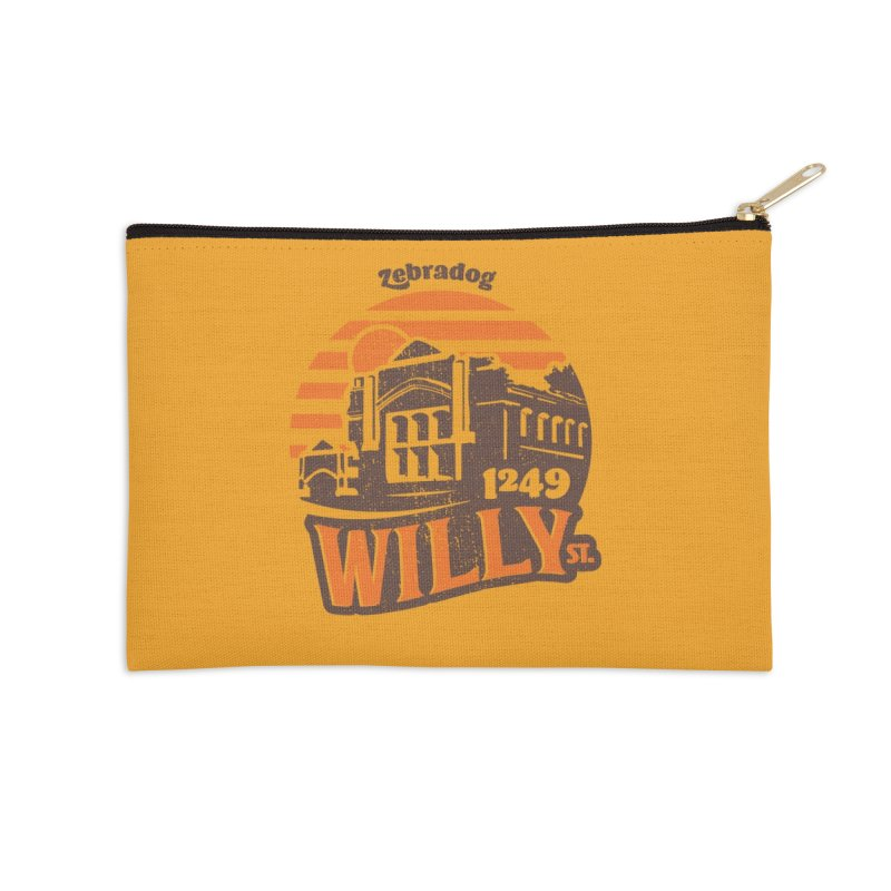Vibe 1975 Accessories Zip Pouch by Zebradog Apparel & Accessories