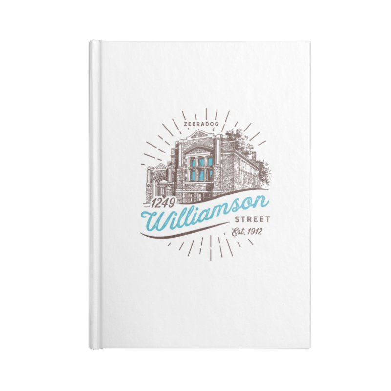 Vibe 1935 Accessories Blank Journal Notebook by Zebradog Apparel & Accessories
